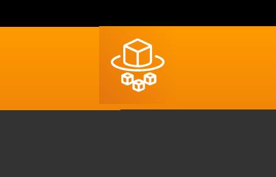 Amazon EKS on AWS Fargate logo