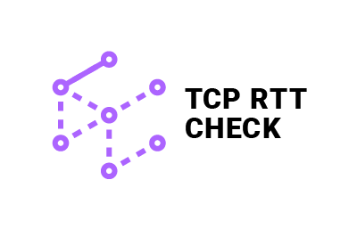 TCP RTT Check logo